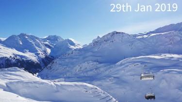 ski conditions in St Anton