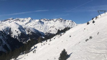ski conditions in St Anton