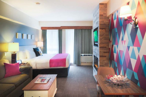 Summit Boutique Lodge and Spa, Whistler, Canada, Deluxe Studio