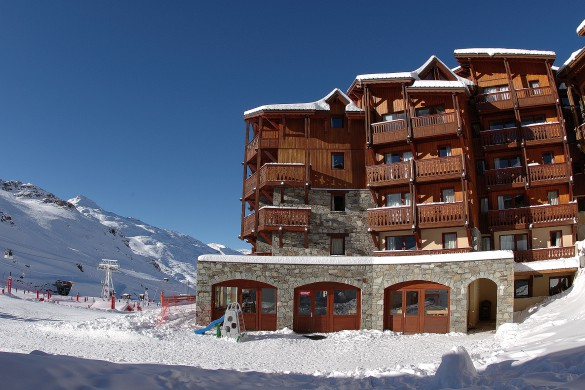 Exterior of Village Montana - Self-catered ski apartment - Val Thorens, France