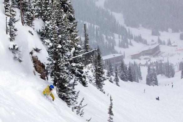 Sunshine Mountain Lodge, Banff - Snow