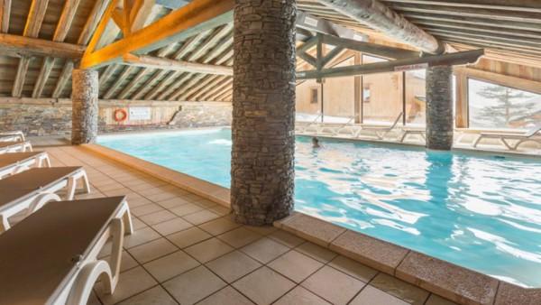 Swimming Pool, Les Alpages de Reberty, Les Menuires, France