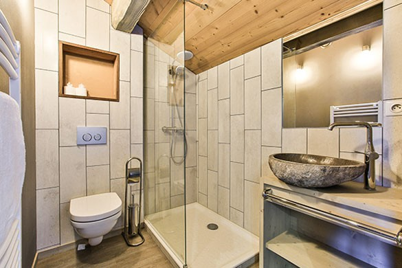 Bathroom - Chalet Sylvie - Ski Chalet in Val d'Isere, France
