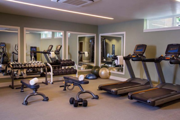 Fitness Suite of The Gant - Luxury Hotel and Condo in Aspen, North America