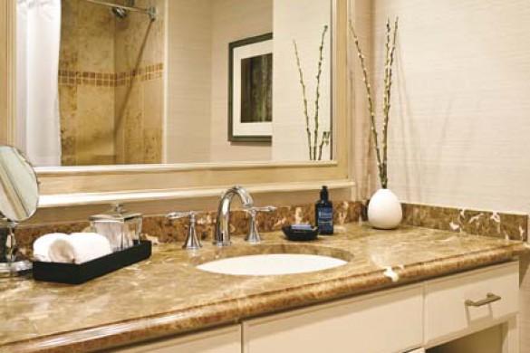 Luxury bathroom, The Sebastian, Vail