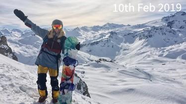ski conditions in Tignes