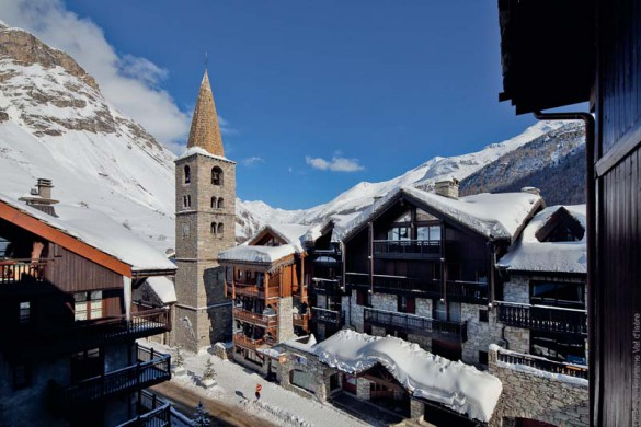 Town Centre, Val d'Isere, France