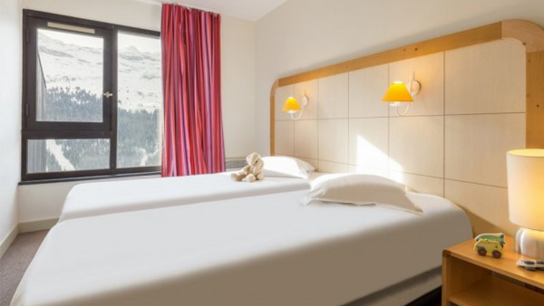Twin Bedroom, Residence La Foret, Flaine, France