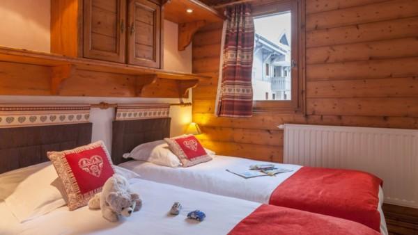 Twin Bedroom, Residence La Ginabelle, Chamonix, France