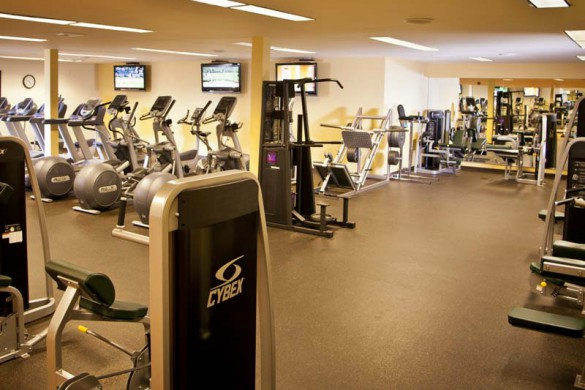 Gym in the Vail Racquet Club - Condominium in Vail, North America