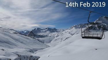 ski conditions in Val dIsere