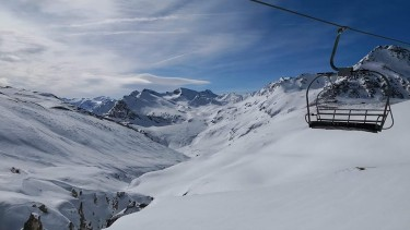 ski conditions in Val dIsere