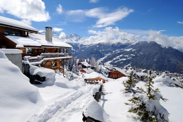 Verbier ski resort switzerland