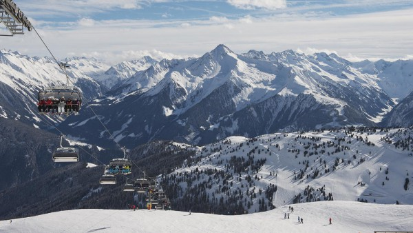 View from Chair Lift in Mayrhofen