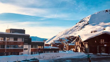 ski conditions in Val Thorens