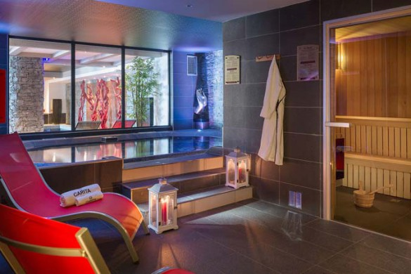 Wellness Area, Le Lodge Hemera - Ski Apartments in La Rosiere, France