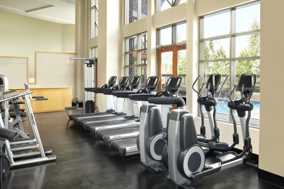 Hotel Westin Resort and Spa, gym, Whistler