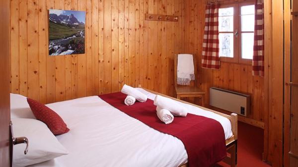 Chalet Yves bedroom, Les Arcs