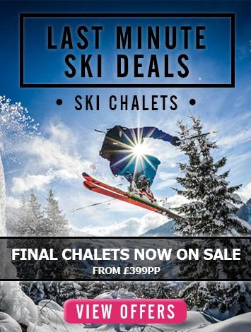 Last Minute Ski Deals - Chalets