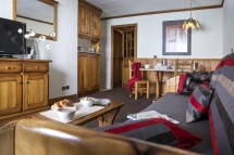 Apartment interior in Village Montana - Self-catered ski apartment - Val Thorens, France