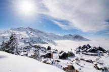 Avoriaz, France, View of Resort