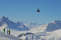 Cable Car, St Anton am Arlberg, Austria