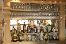 Bar stock in Ski Lodge Aigle - Ski Chalet in Tignes, France
