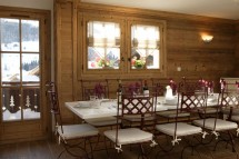 Dining Room in Chalet Lapin de Neige - Ski Chalet in Courchevel, France