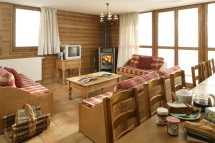 Chalet Marmotte dining, La Rosiere