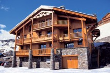 Chalet Peclet ext, Val Thorens