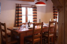 Chalet Yves dining room, Les Arcs