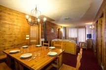 Chalet Libra, Val Thorens, France, Dining Area