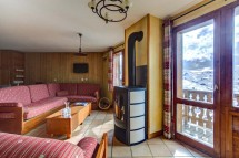 Chalet Poire, Val Thorens, France, Living Area
