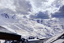 Chalet Poire, Val Thorens, France, View from Chalet Poire