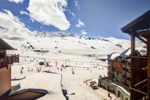 Chalet Rayon de Soleil, Val Thorens, France, View from the Chalet