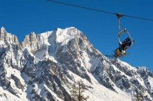 Courmayeur Italy Chair Lift