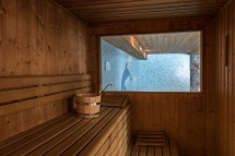 Sauna in the Ski Lodge Aigle - ski chalet in Tignes, France