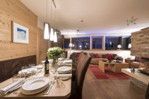 Living and Dining Area, Chalet Stratus, St. Anton, Austria