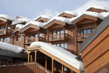 Exterior of le chalet du forum - apartment in Courchevel, France