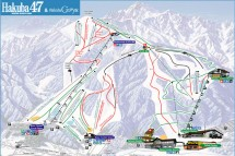 Hakuba Piste Map