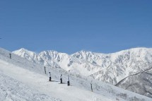 Hakuba Happo Japan, Ski, Piste, Mountains
