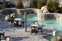 Hotel Hilton Homewood Suites, pool, Tremblant
