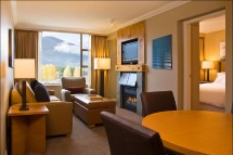 Hotel Westin Resort and Spa, suite, Whistler
