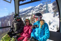 Kicking Horse, Canada, Family Gondola Ride