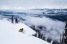 Kicking Horse, Canada, Powder Skiing