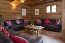 Living area in Chalet Pascale - ski chalet in Les Arcs - Peisey, France