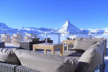Mountain Restaurant Blue Lounge, Zermatt, Switzerland