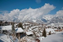 Nendaz, Switzerland, town view