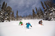 Off piste, Jackson Hole, USA