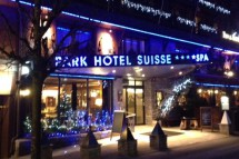 Exterior of Park Hotel Suisse & Spa - Hotel in Chamonix, France